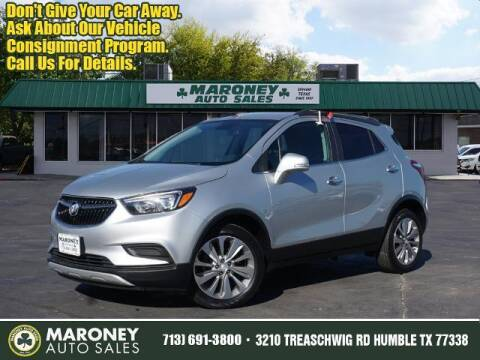 2019 Buick Encore for sale at Maroney Auto Sales in Humble TX