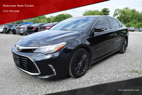 2016 Toyota Avalon for sale at American Auto Center in Austin TX