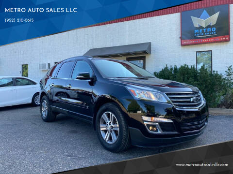 2017 Chevrolet Traverse for sale at METRO AUTO SALES LLC in Blaine MN
