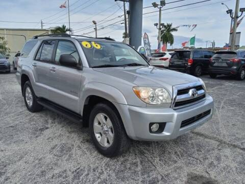 2006 Toyota 4Runner for sale at Brascar Auto Sales in Pompano Beach FL