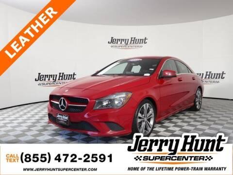 2016 Mercedes-Benz CLA for sale at Jerry Hunt Supercenter in Lexington NC