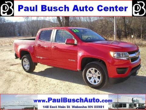 2020 Chevrolet Colorado for sale at Paul Busch Auto Center Inc in Wabasha MN