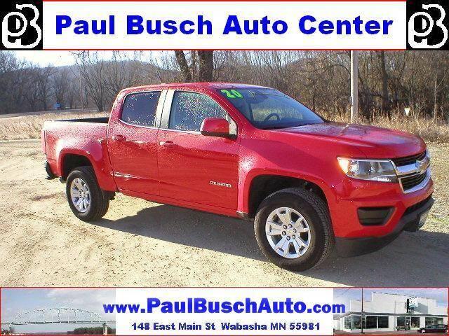 2020 Chevrolet Colorado for sale at Paul Busch Auto Center Inc in Wabasha MN