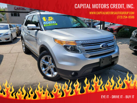 2015 Ford Explorer for sale at Capital Motors Credit, Inc. in Chicago IL