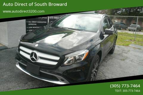 2016 Mercedes-Benz GLA for sale at Auto Direct of South Broward in Miramar FL