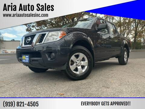 2012 Nissan Frontier for sale at ARIA  AUTO  SALES in Raleigh NC