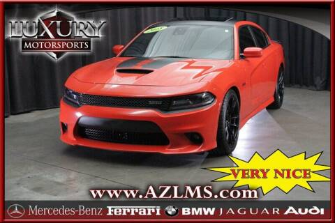 2018 Dodge Charger for sale at Luxury Motorsports in Phoenix AZ