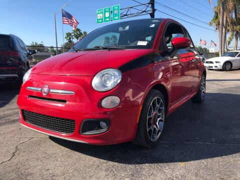 2013 FIAT 500 Sport  for sale at Gtr Motors in Fort Lauderdale FL