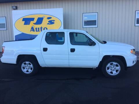 2013 Honda Ridgeline for sale at TJ's Auto in Wisconsin Rapids WI