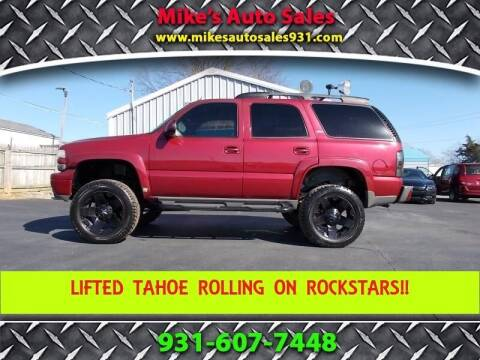 2005 Chevrolet Tahoe for sale at Mike's Auto Sales in Shelbyville TN