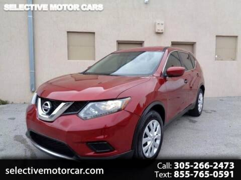 2016 Nissan Rogue for sale at Selective Motor Cars in Miami FL