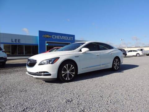 2017 Buick LaCrosse for sale at LEE CHEVROLET PONTIAC BUICK in Washington NC