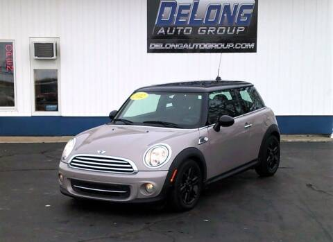 2012 MINI Cooper Hardtop for sale at DeLong Auto Group in Tipton IN