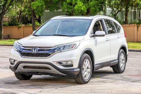 2015 Honda CR-V for sale at Easy Deal Auto Brokers in Hollywood FL