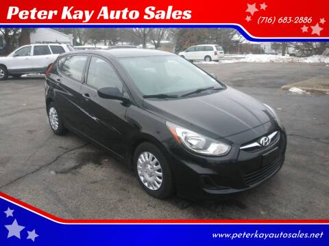 2013 Hyundai Accent for sale at Peter Kay Auto Sales in Alden NY