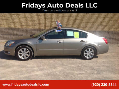 2005 Nissan Maxima for sale at Fridays Auto Deals LLC in Oshkosh WI