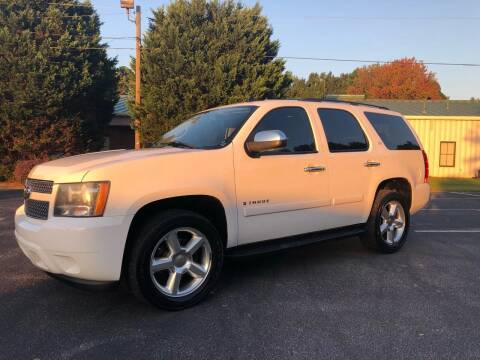 2007 Chevrolet Tahoe for sale at GTO United Auto Sales LLC in Lawrenceville GA