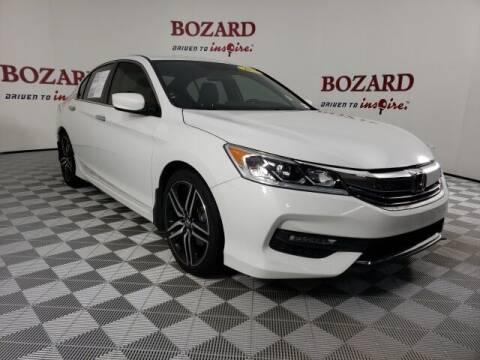 2017 Honda Accord for sale at BOZARD FORD in Saint Augustine FL