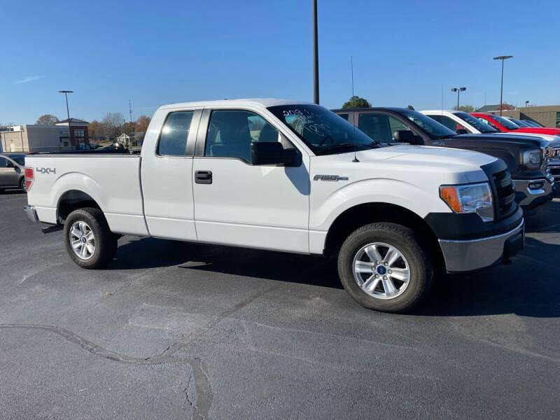 2013 Ford F-150 for sale at McCully's Automotive - Trucks & SUV's in Benton KY