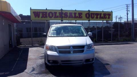 2010 Dodge Grand Caravan for sale at LONG BROTHERS CAR COMPANY in Cleveland OH