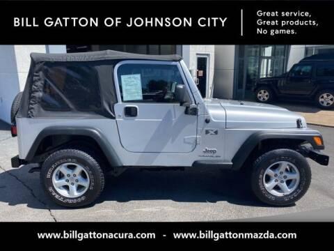2006 Jeep Wrangler for sale at Bill Gatton Used Cars - BILL GATTON ACURA MAZDA in Johnson City TN