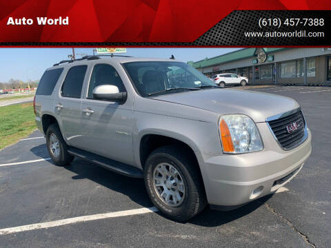 2007 GMC Yukon for sale at Auto World in Carbondale IL