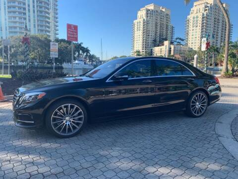 2015 Mercedes-Benz S-Class for sale at Premier Auto Group of South Florida in Wellington FL