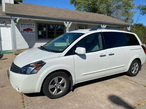 2009 Nissan Quest for sale at Brewer's Auto Sales in Greenwood MO