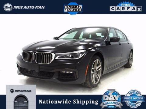 2019 BMW 7 Series for sale at INDY AUTO MAN in Indianapolis IN