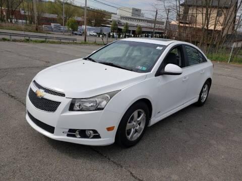 2013 Chevrolet Cruze for sale at Cj king of car loans/JJ's Best Auto Sales in Troy MI