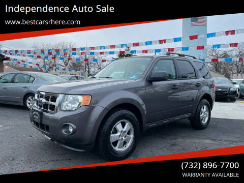2011 Ford Escape for sale at Independence Auto Sale in Bordentown NJ