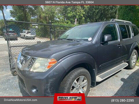 2010 Nissan Pathfinder for sale at Drive Now Motors USA in Tampa FL