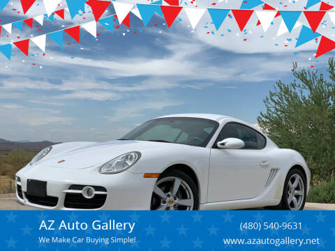 2007 Porsche Cayman for sale at AZ Auto Gallery in Mesa AZ