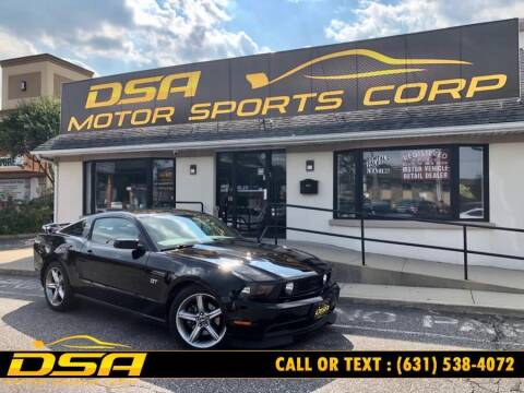 2010 Ford Mustang for sale at DSA Motor Sports Corp in Commack NY