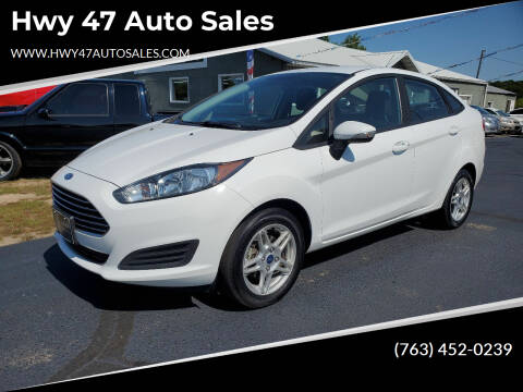 2019 Ford Fiesta for sale at Hwy 47 Auto Sales in Saint Francis MN