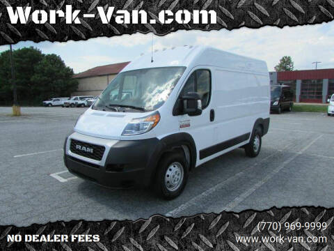 2019 RAM ProMaster Cargo for sale at Work-Van.com in Union City GA