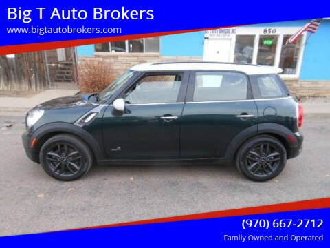 2012 MINI Cooper Countryman for sale at Big T Auto Brokers in Loveland CO