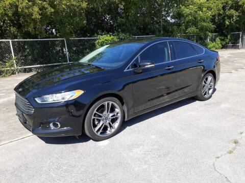 2016 Ford Fusion for sale at Yates Brothers Motor Company in Fort Worth TX