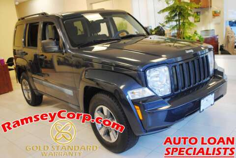 2008 Jeep Liberty for sale at Ramsey Corp. in West Milford NJ