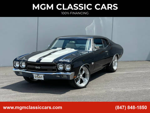 1970 Chevrolet Chevelle for sale at MGM CLASSIC CARS in Addison, IL