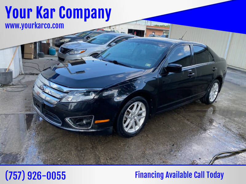 2012 Ford Fusion for sale at Your Kar Company in Norfolk VA