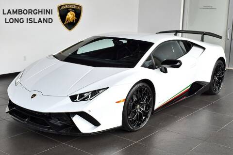 2018 Lamborghini Huracan for sale at Bespoke Motor Group in Jericho NY