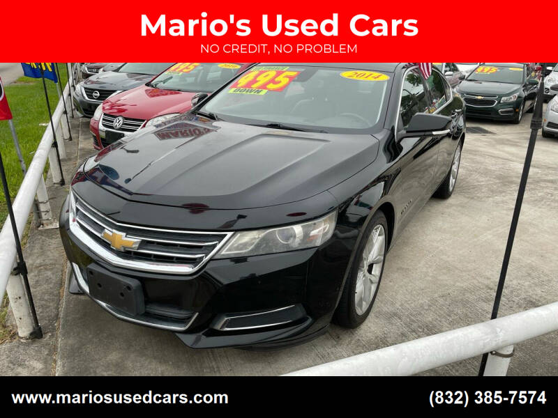 2014 Chevrolet Impala for sale at Mario's Used Cars - South Houston Location in South Houston TX