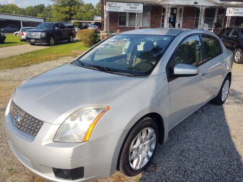 2007 Nissan Sentra for sale at Ray Moore Auto Sales in Graham NC