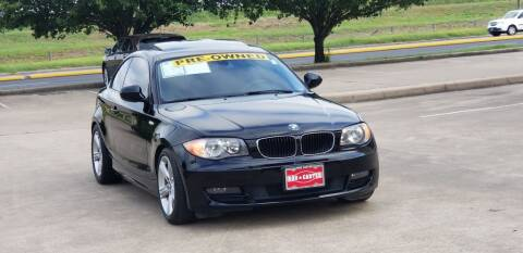 2011 BMW 1 Series for sale at America's Auto Financial in Houston TX