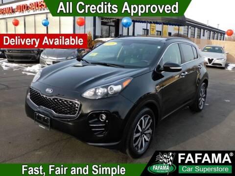2018 Kia Sportage for sale at FAFAMA AUTO SALES Inc in Milford MA