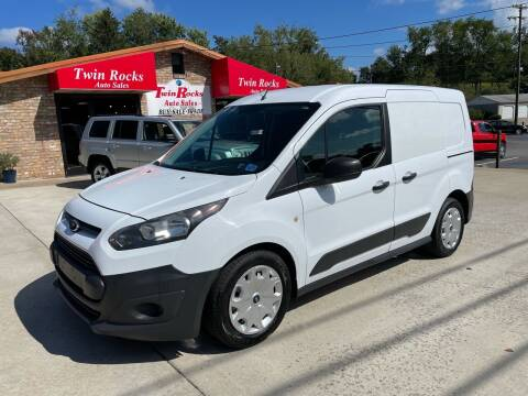 2014 Ford Transit Connect Cargo for sale at Twin Rocks Auto Sales LLC in Uniontown PA