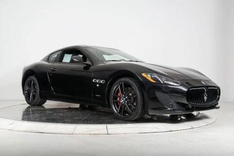 2017 Maserati GranTurismo for sale at Peninsula Motor Vehicle Group in Oakville Ontario NY