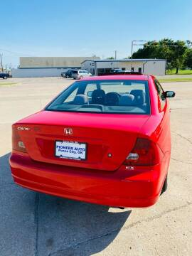 2003 Honda Civic for sale at Pioneer Auto in Ponca OK