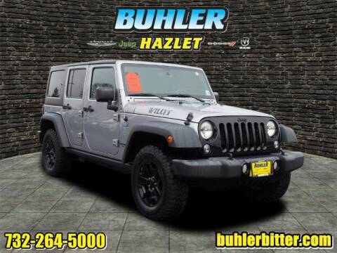 2016 Jeep Wrangler Unlimited for sale at Buhler and Bitter Chrysler Jeep in Hazlet NJ